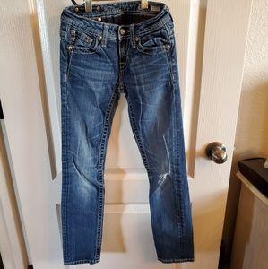 Girls skinny Miss Me Jean's size 10